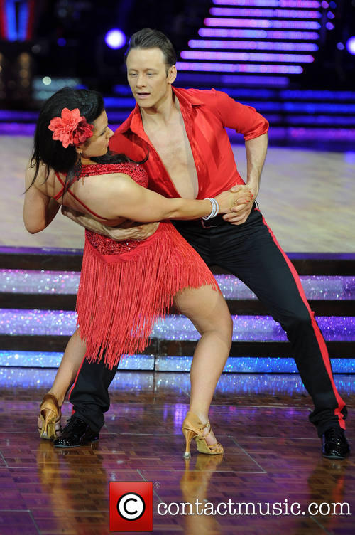 Susanna Reid Kevin Clifton Strictly Come Dancing Live